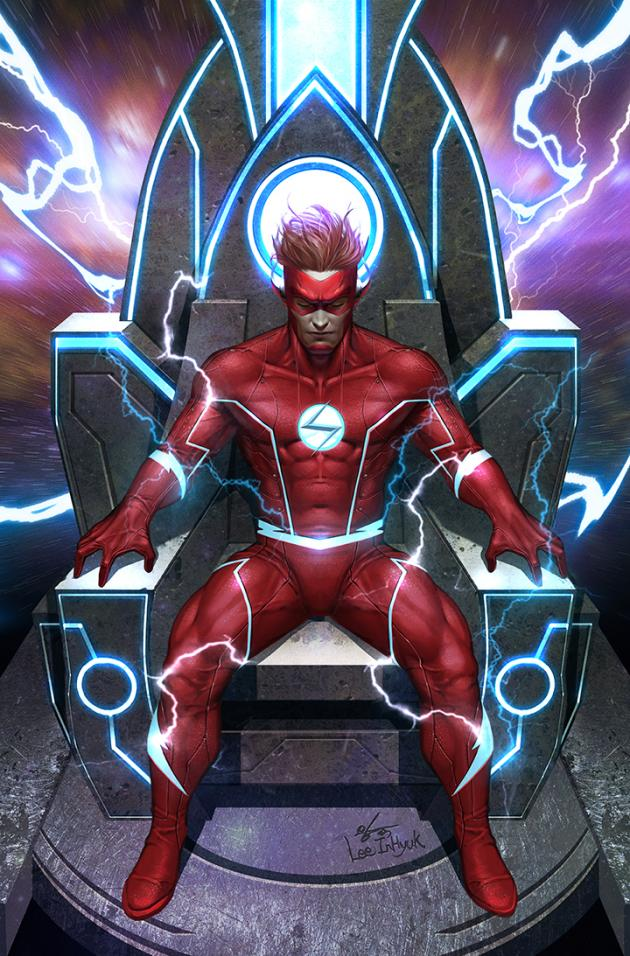 of 6 2019 DC Comics Flash Forward #2 Shaner Cover First Print New Lobdell