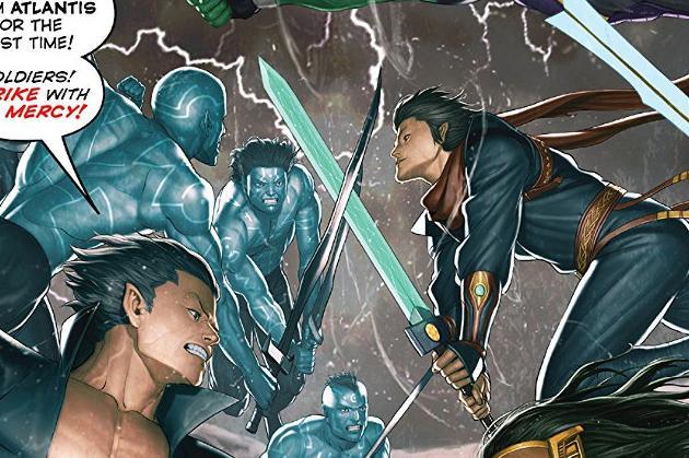 Atlantis Attacks #1 Review