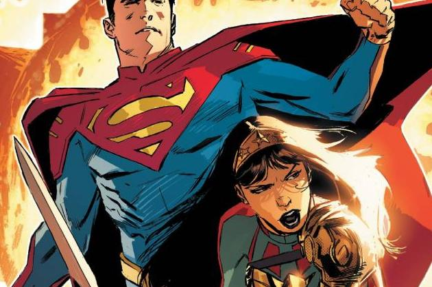 Future State Superman Wonder Woman #1 Cover Image