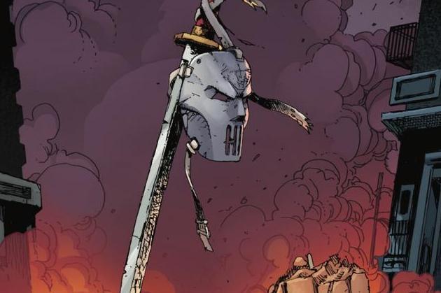Teenage Mutant Ninja Turtles The Last Ronin #3 Cover Graphic