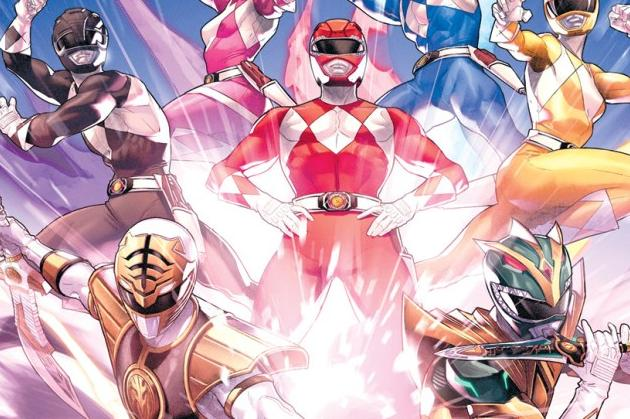 Mighty Morphin' Power Rangers #55 Cover Graphic