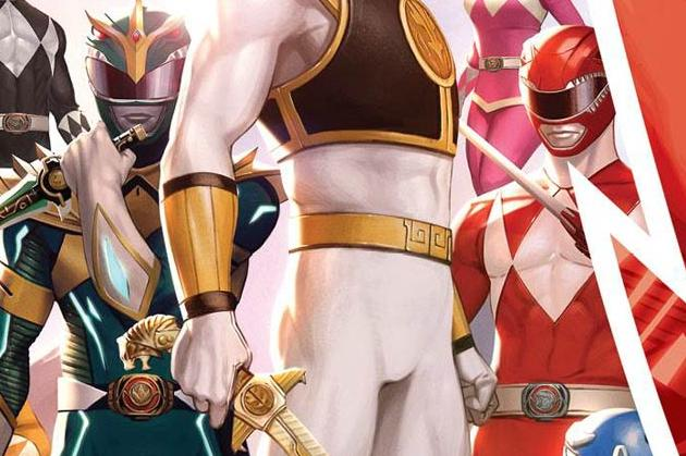 Mighty Morphin #1 Cover Graphic