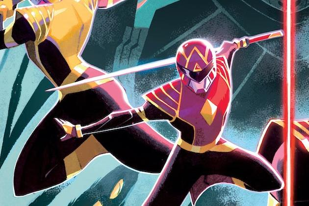 Power Rangers #1 Cover Graphic