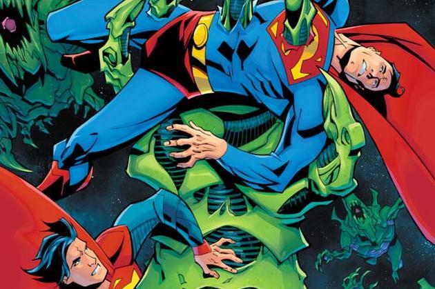 Superman #29 Cover Graphic