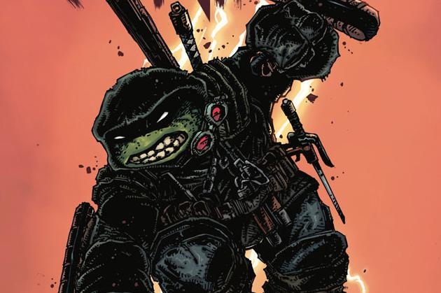 Teenage Mutant Ninja Turtles The Last Ronin #1 Cover Graphic