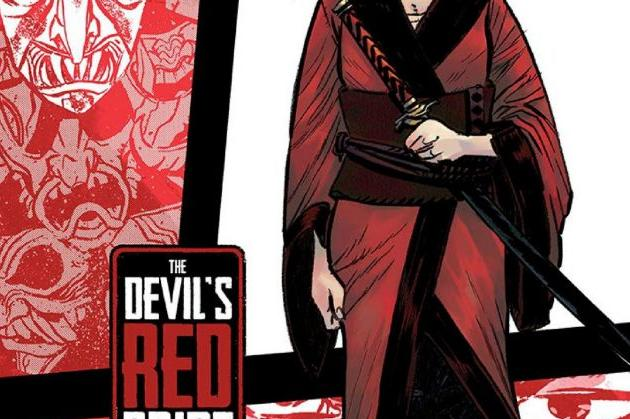 The Devil's Red Bride #1 Cover Graphic