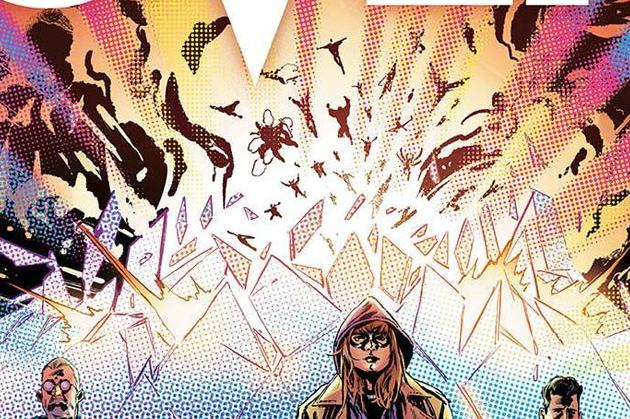 Crossover #6 Cover