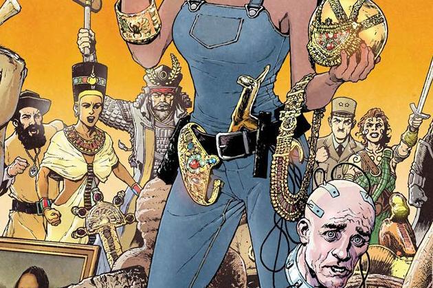 Marjorie Finnegan #1 Cover