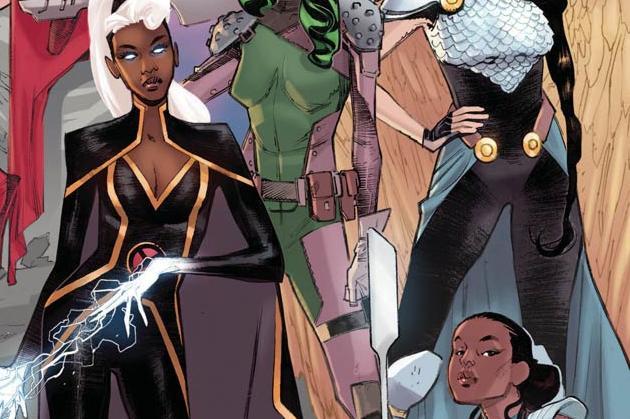 Women of Marvel #1 Cover